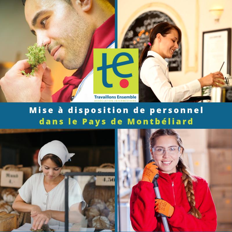 Notre association vous aide à recruter durablement de la main d'oeuvre, sur tout le pays de Montbéliard